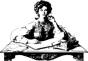 woman-writing